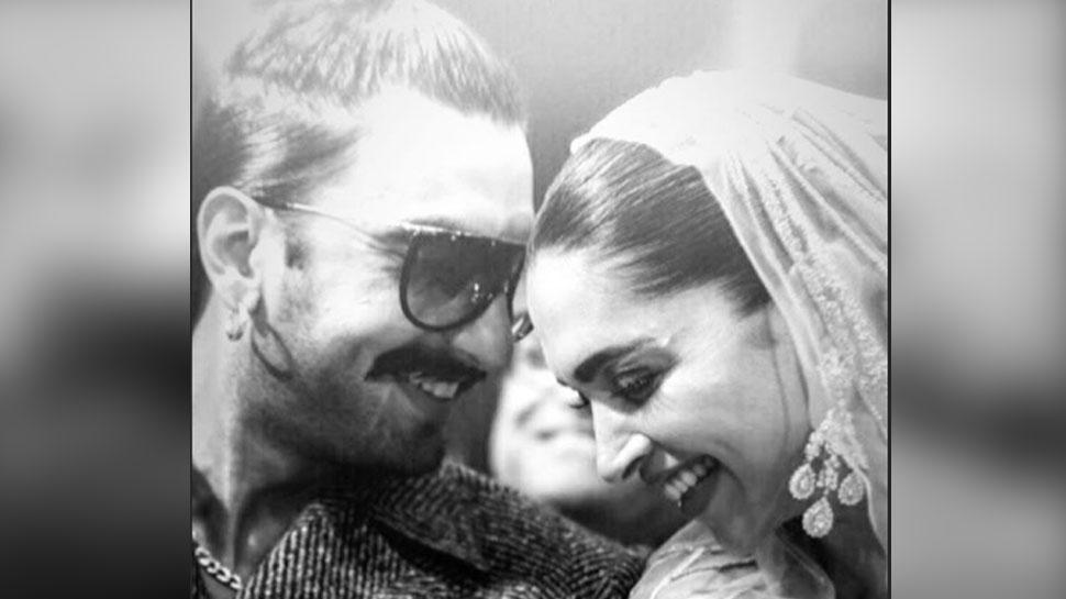 रणवीर सिंह ने दीपिका पादुकोण के साथ शेयर की अपनी रोमांटिक तस्वीर