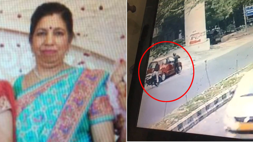दिल्ली: बदमाशों ने कार सवार महिला का गोली मारकर किया मर्डर, सामने आया घटना का VIDEO