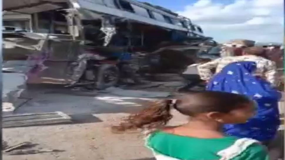 अजमेर: जयपुर से राजकोट जा रही बस सड़क हादसे का शिकार, 8 की मौत