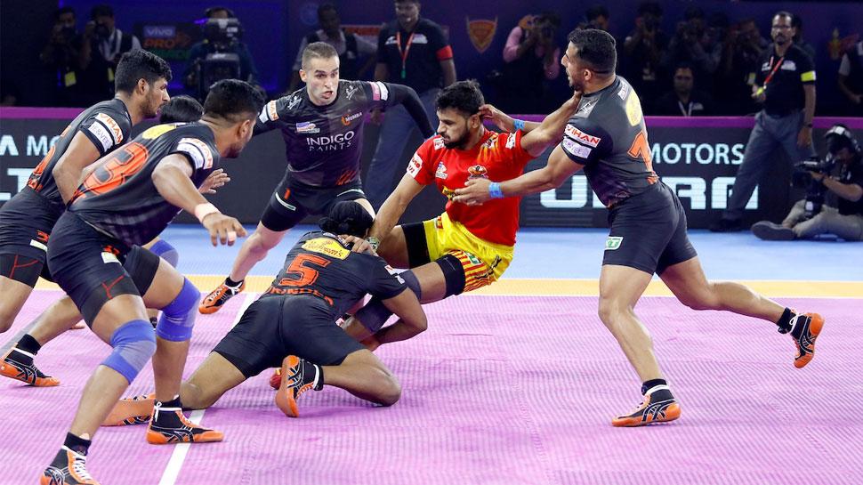 PKL 2019: रोमांचक मुकाबले में गुजरात को हराकर चौथे स्थान तक पहुंचे यू मुंबा