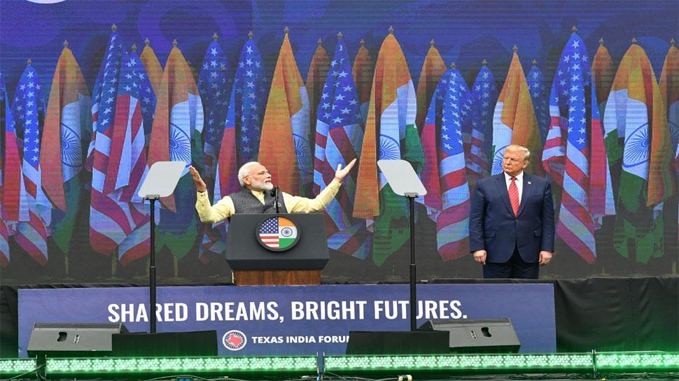 Howdy Modi: PM मोदी ने सुनाई कविता, 'वो जो मुश्किलों का अंबार है, वही मेरे हौसलों की मीनार है'
