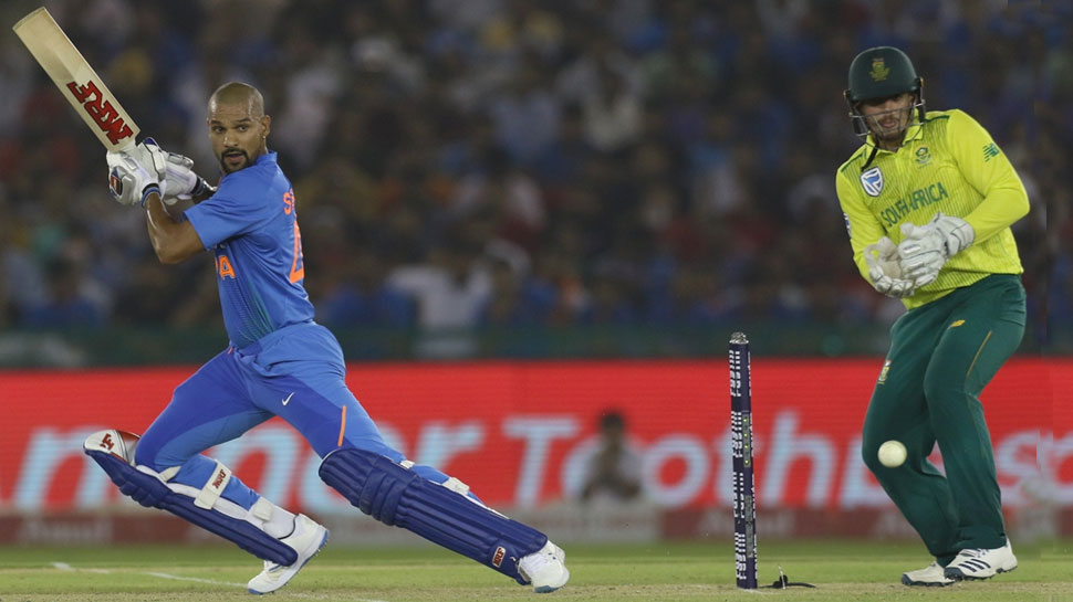 Shikhar Dhawan back in form
