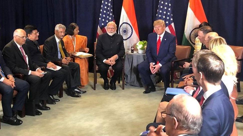 द्विपक्षीय मुलाकात में ट्रंप ने की PM मोदी की जमकर तारीफ, कहा- 'ह्यूस्टन में पाक को जवाब मिल चुका है'