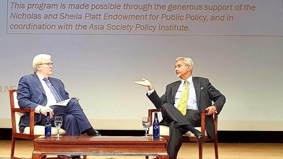 हम पाकिस्तान से बातचीत तो कर सकते है, लेकिन 'टेररिस्तान' से नहींः विदेश मंत्री