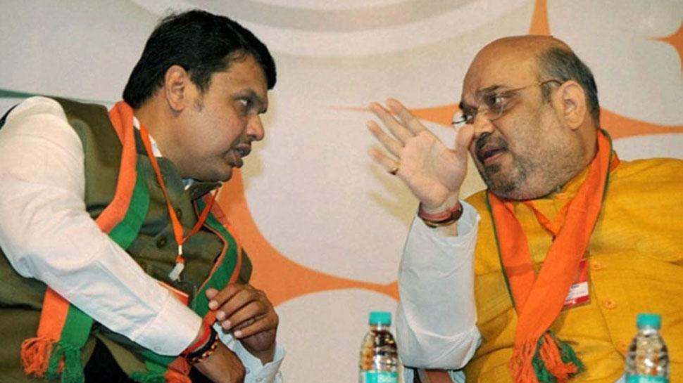 दिल्लीः शिवसेना के साथ सीट बंटवारे को लेकर बीजेपी नेताओं की बैठक