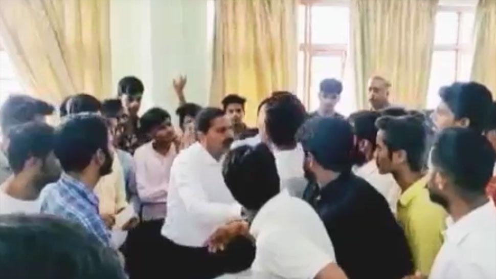 उदयपुर: मोहनलाल सुखाड़िया यूनिवर्सिटी बना राजनीति का अखाड़ा, डीन ऑफिस में हाथापाई