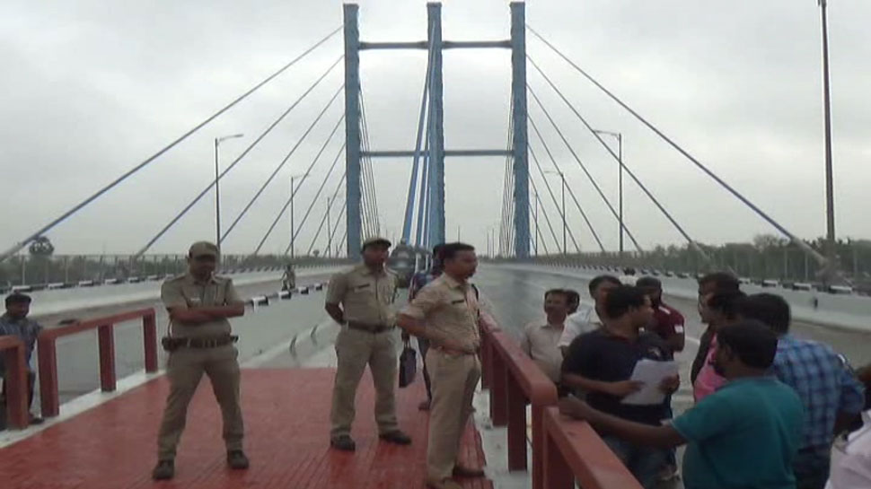 प. बंगाल: पुल को लेकर राजनीतिक घमासान जारी, दूसरी बार होने जा रहा है उद्घाटन