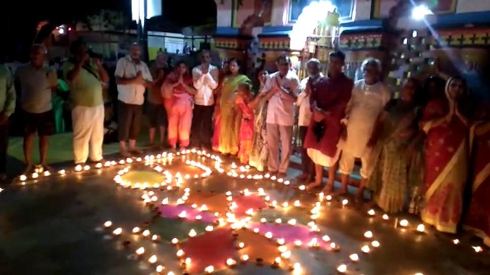 बिहार: गया में श्रद्धालुओं ने मनाई पित्र दीपावली, पितरों के लिए जलाए गए दीप