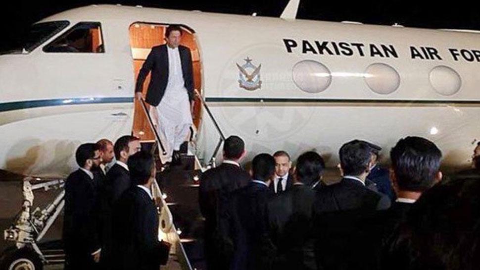 अमेरिका से PAK लौट रहे थे इमरान खान, बीच रास्ते आसमान में खराब हुआ प्लेन, फिर...