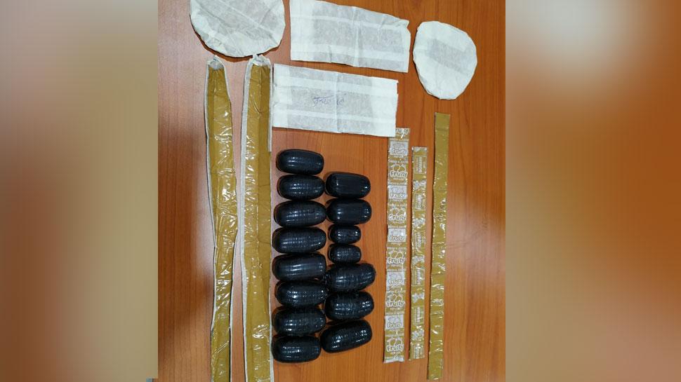 इंदौरः केमिकल से पेस्ट बनाया और पेट में छिपा लिया 5.5 किलो सोना, 1 महिला सहित 7 यात्री गिरफ्तार