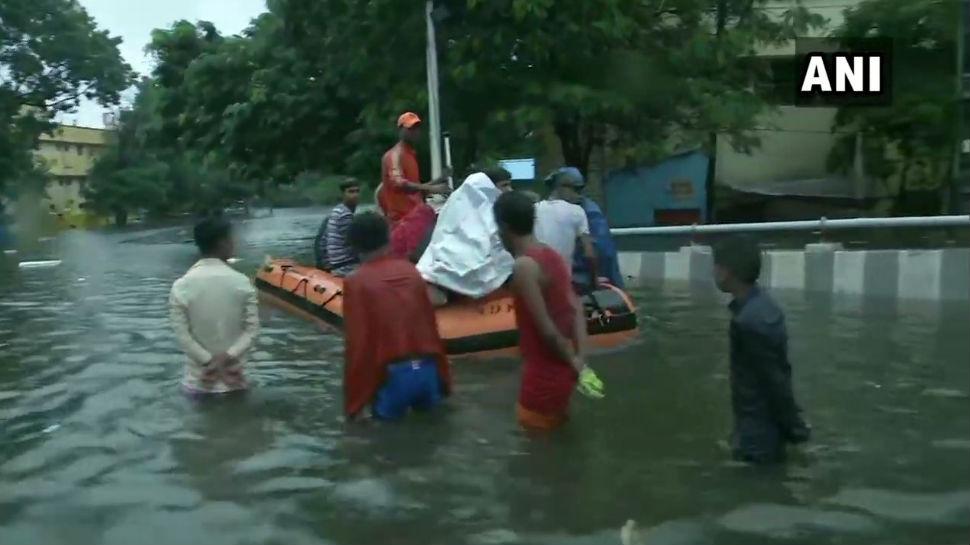 बिहार: 1975 के बाद पहली बार पटना में हो रही ऐसी बारिश, राहत-बचाव कार्य में जुटी NDRF-SDRF