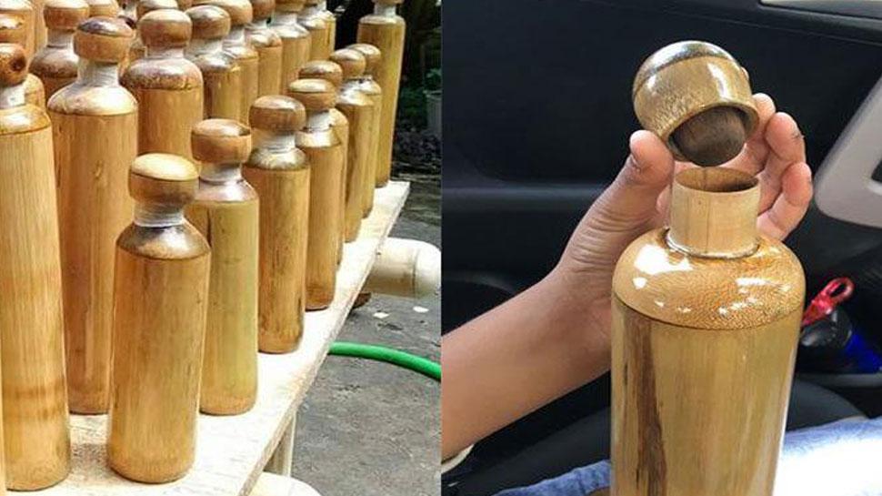 अब प्लास्टिक नहीं बांस की बोतल में पीएं पानी, जल्द हो रही है लॉन्च