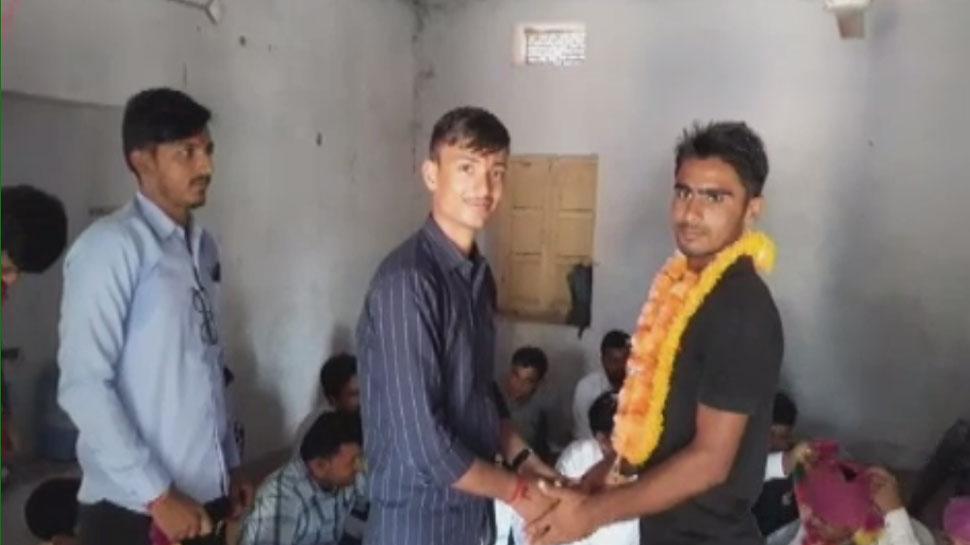 जोधपुर: कबड्डी प्रतियोगिता में जीत दर्ज करने वाले रिछपाल जाट का लोहावट में स्वागत