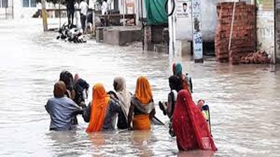 राजस्थान: कोटा में सालों बाद हुई इतनी ज्यादा बारिश, टूटा 48 साल का रिकॉर्ड