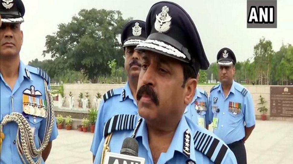IAF प्रमुख का पद संभालते ही बोले RKS भदौरिया, 'हम हर मिशन के लिए हैं तैयार'