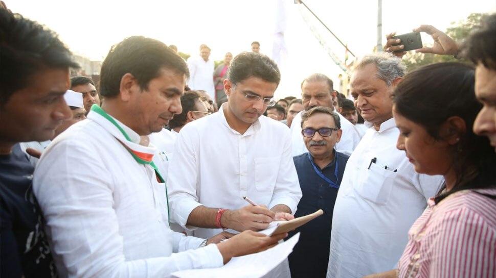 राजस्थान: जयपुर के सांगानेर से कांग्रेस के औपचारिक सदस्यता अभियान की हुई शुरुआत