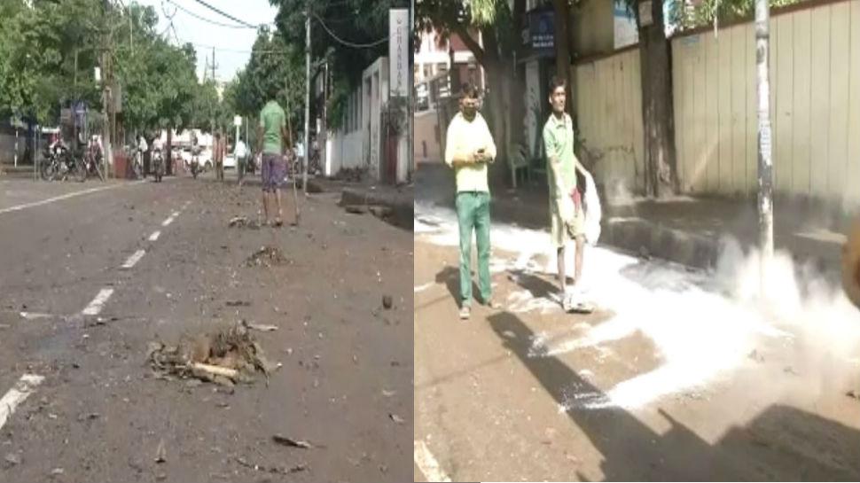 बारिश के बाद अब पटनावासियों के सामने नई समस्या, पानी निकलते ही चारों ओर फैला कचरा