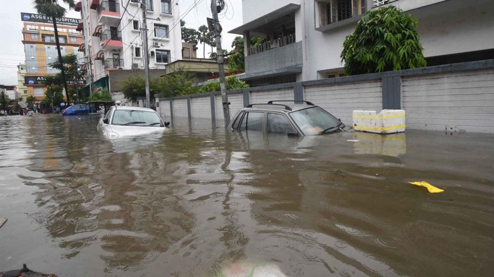 पटना: पुनपुन नदी में लगातार बढ़ रहा जलस्तर, हर दो घंटे में पानी का बढ़ रहा लेवल