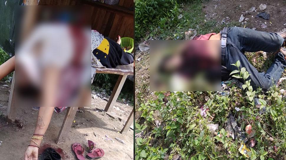 लखीमपुर खीरी: पति ने पत्नी की हत्या कर किया सुसाइड, अवैध संबंधों का था शक