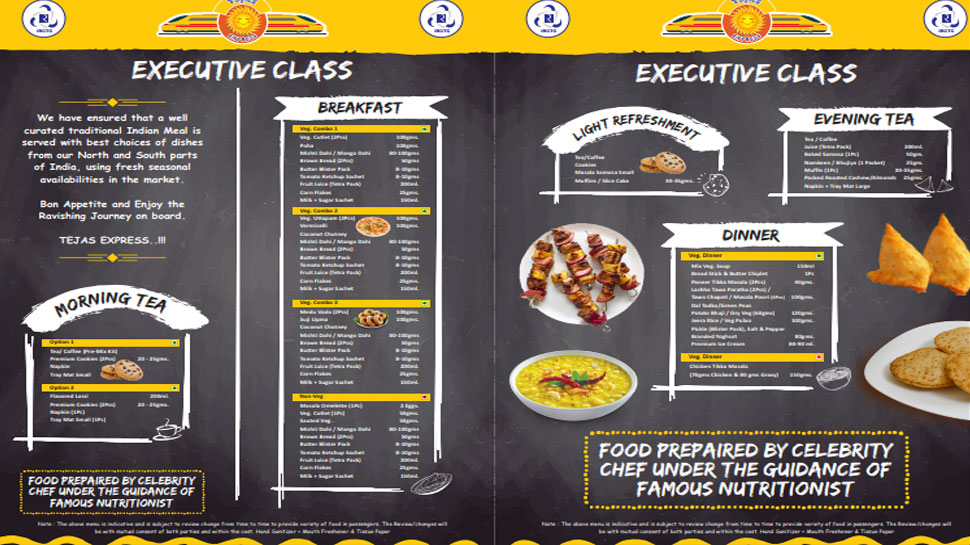 Know what is in MENU