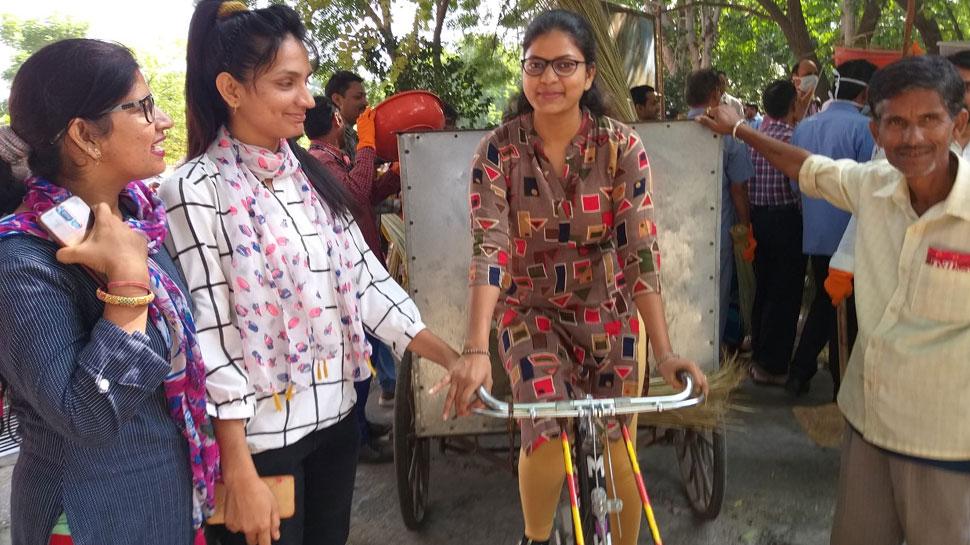 जयपुर: सचिवालय में मनाया गया गांधी जयंती सप्ताह, अधिकारियों ने किया श्रमदान