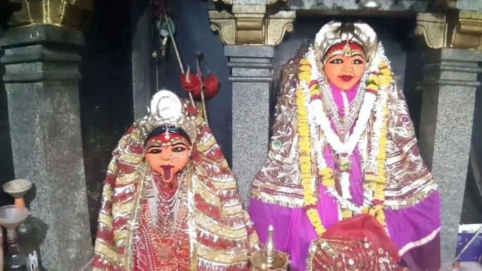 नवरात्रि 2019: सातरुंडा माता मंदिर में बाल्य, युवा और वृद्धावस्था में दर्शन देती हैं मां कंवलका जी