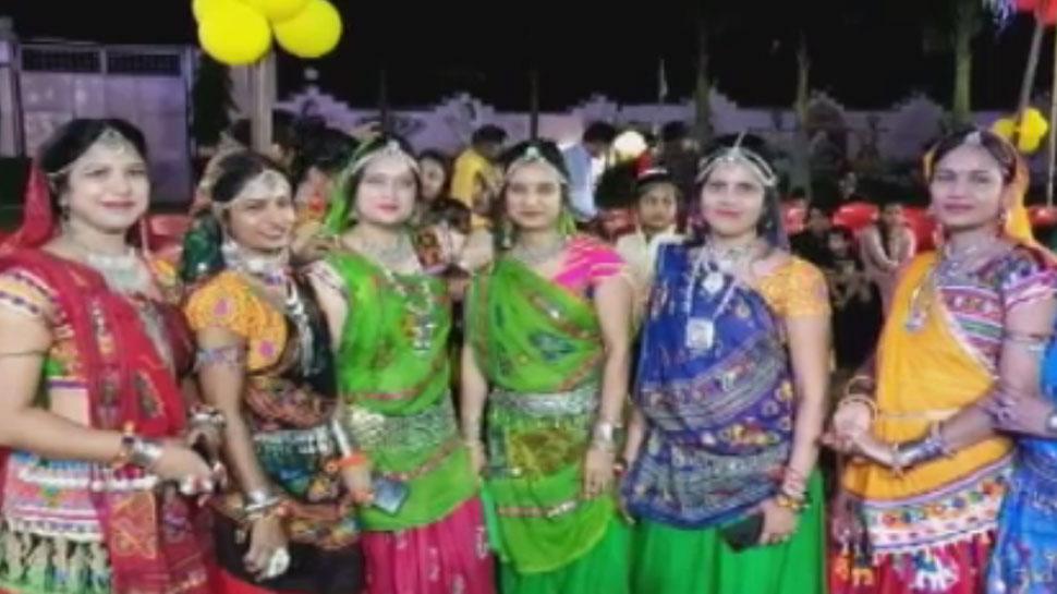 राजस्थान में धूम धाम से मनाई जा रही नवरात्रि, बारां में डांडिया कार्यक्रमों का हुआ आयोजन