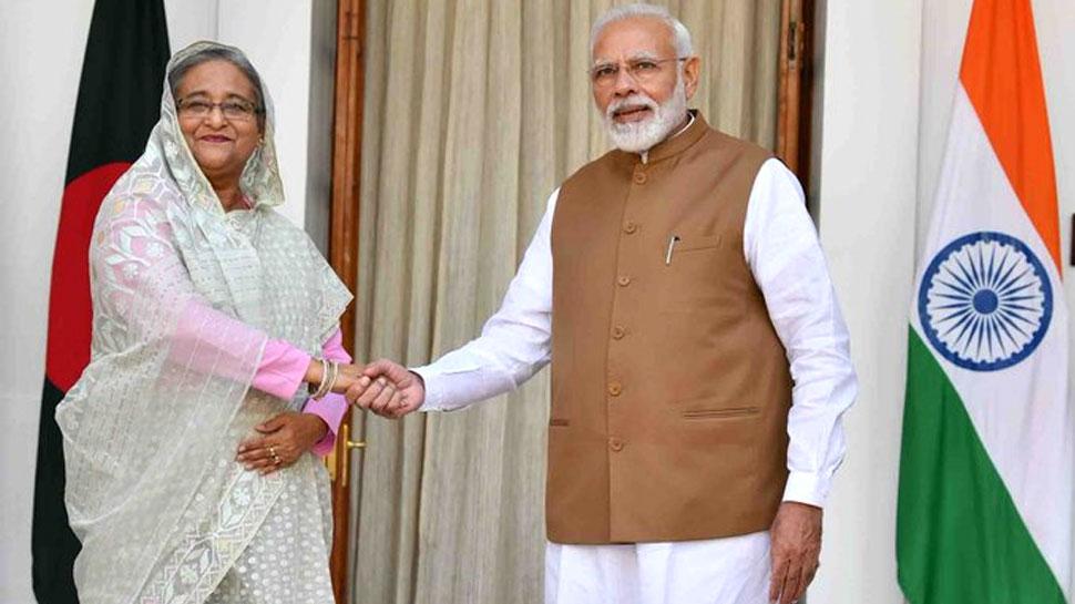 पीएम मोदी और शेख हसीना की मुलाकात, भारत और बांग्लादेश के बीच हुए अहम समझौते  | Hindi News, देश