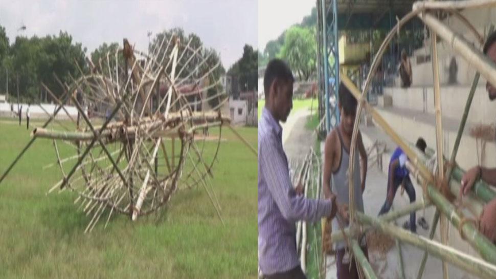 डूंगरपुर का 'रावण' पूरे देश में विख्यात, 200 साल से बांसड़ समाज के लोग बना रहे हैं पुतला