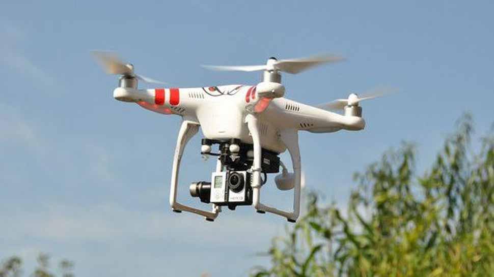 पंजाब: बॉर्डर पर रात को देखा गया ड्रोन, पाकिस्तान की तरफ से 5 बार उड़ा