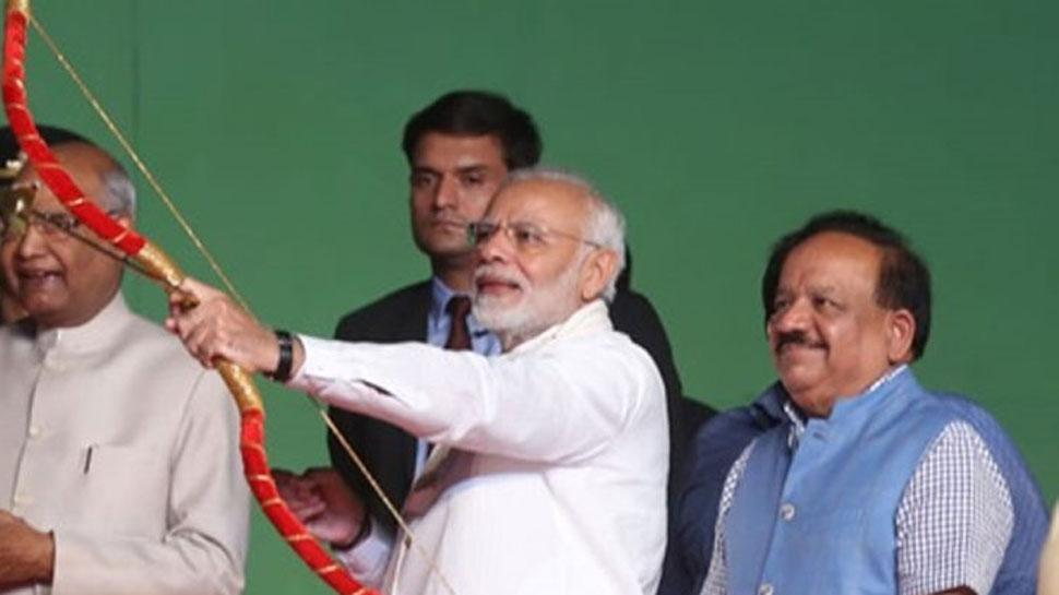 पीएम नरेंद्र मोदी द्वारका सेक्टर-10 में दशहरा कार्यक्रम में करेंगे शिरकत, करेंगे रावण दहन