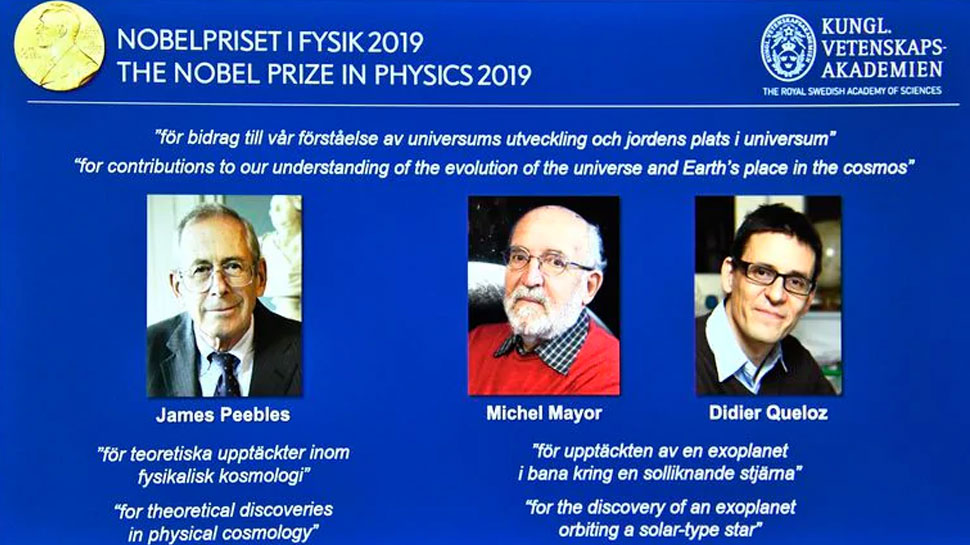Three scientists will get the shared Nobel Prize in Physics
