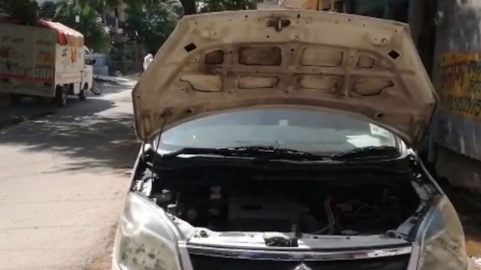 एक के बाद एक 7 गाड़ियों की बैटरी चोरी कर चोर हुए फरार, पुलिस को ऐसे लगा सुराग