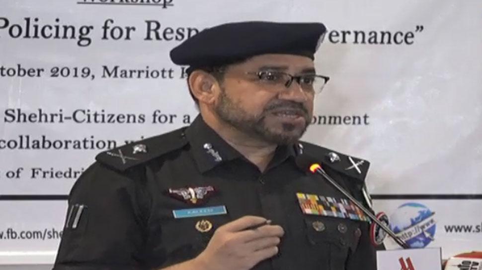 पाकिस्तान पुलिस के IG ने लोगों से बयां किया दर्द, 'मेरी सास, भतीजों, भाई-बहन को खुद लूट लिया गया'