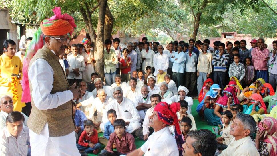 राजस्थान: पंचायत पुनर्गठन को लेकर ग्रामीणों में आक्रोश, कलेक्ट्रेट के बाहर जताया विरोध