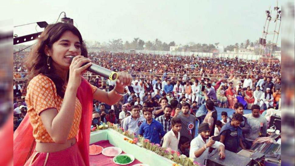 भरतपुर: डीग महोत्सव में राइजिंग स्टार की रनरअप मैथिली ठाकुर आज देंगी प्रस्तुति