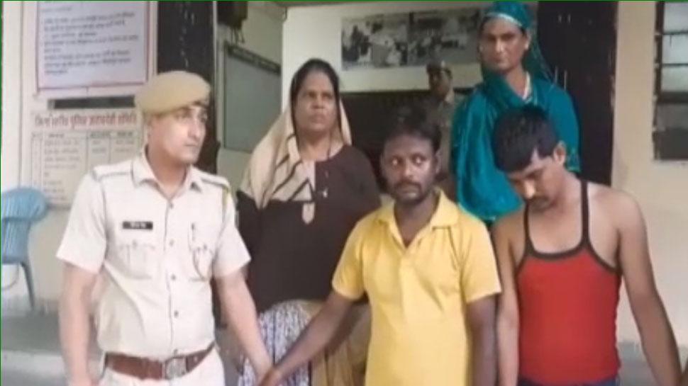 कोटा पुलिस ने किन्नर निशा की हत्या करने वाले 4 आरोपियों को किया गिरफ्तार