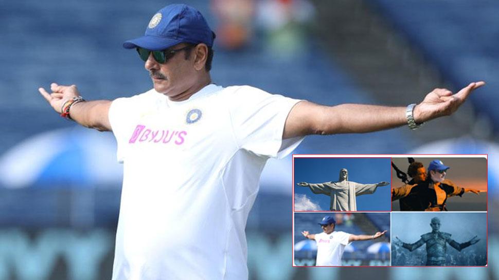 ICC ने रवि शास्त्री की फोटो पर मांगा कैप्शन, फैंस ने memes बनाकर किया जमकर ट्रोल