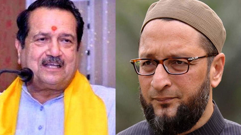 RSS नेता इंद्रेश कुमार ने ओवैसी को बताया 'मेंटल केस', जानिए क्या है पूरा मामला