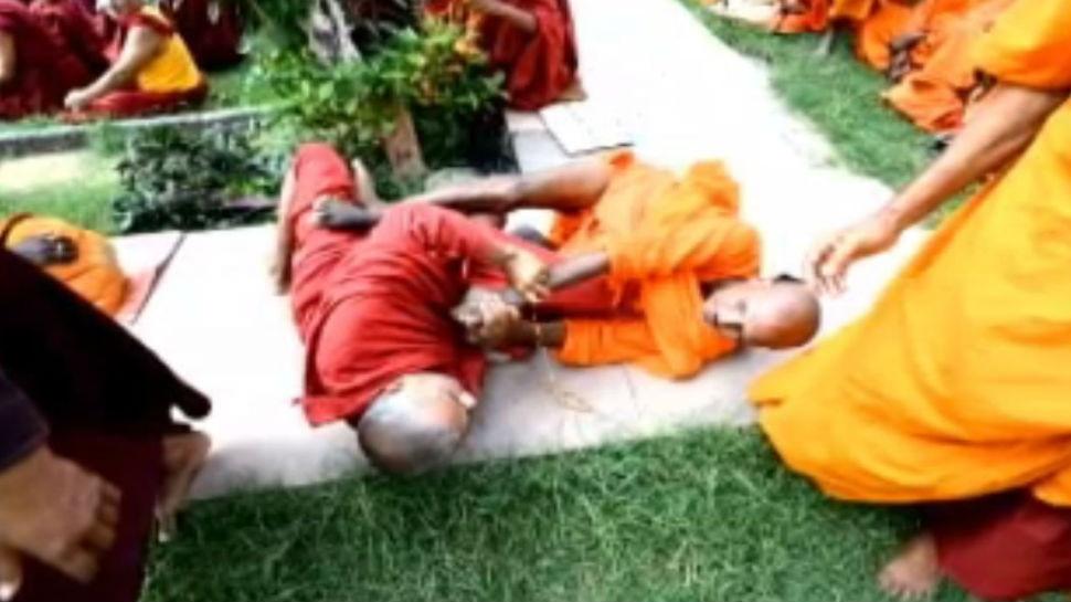 बोधगया: विशेष पूजा के दौरान आपस में भिड़े दो भिक्षु, काफी मुश्किलों के बाद कराया गया शांत