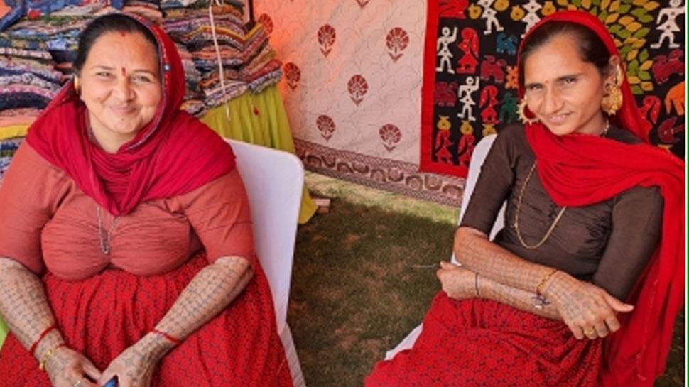 राजस्थान: महिला शिखर सम्मेलन में इस वजह से आकर्षण का केंद्र बनीं ये महिलाएं
