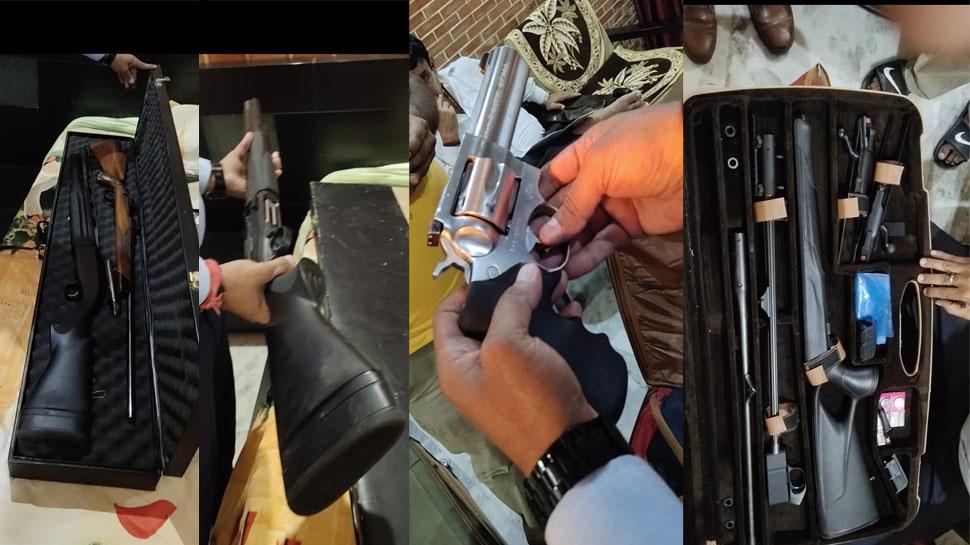 मुख्तार अंसारी के घर से भारी मात्रा में हथियार बरामद, इटली के गन से लेकर स्लोवेनिया के राइफल मिले