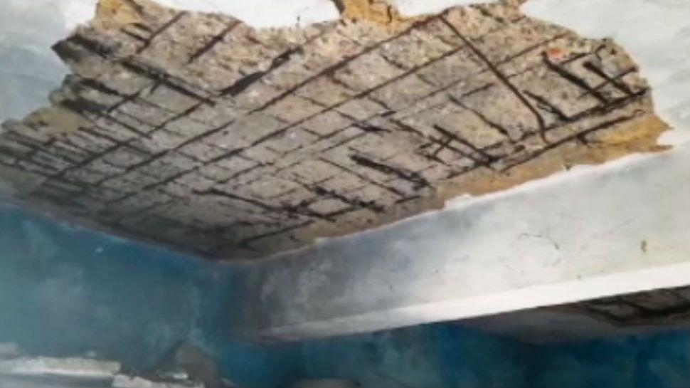 मधुबनी: विद्यालय के भवन की जर्जर हालत, खतरे में है 1100 छात्राओं का जीवन