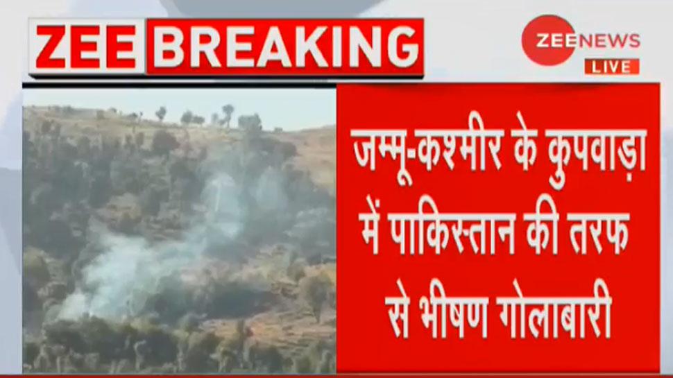 J&K: कुपवाड़ा में PAK ने तोड़ा सीजफायर, 2 जवान शहीद, 1 नागरिक की मौत