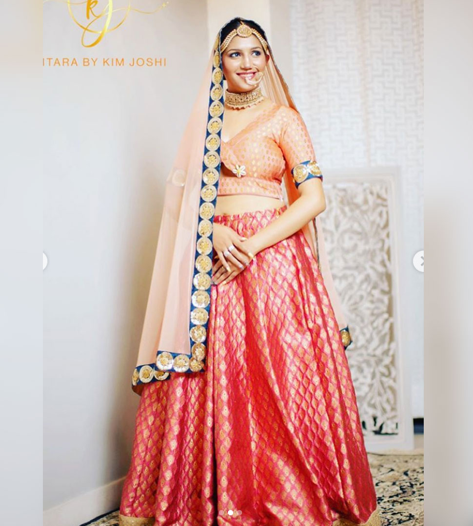 Sapna Chaudhary bridal photoshoot