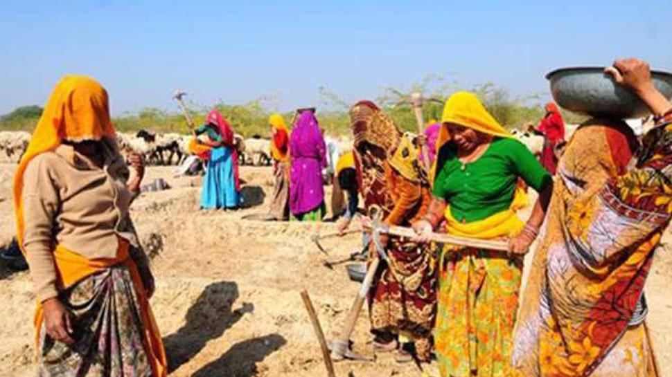 मनरेगा में राजस्थान ने बनाया रिकार्ड, 7 महीने में 45 लाख परिवारों को मिला रोजगार