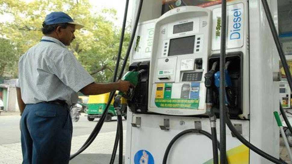 पेट्रोल के रेट में लगातार पांचवें दिन राहत जारी, डीजल भी स्थिर