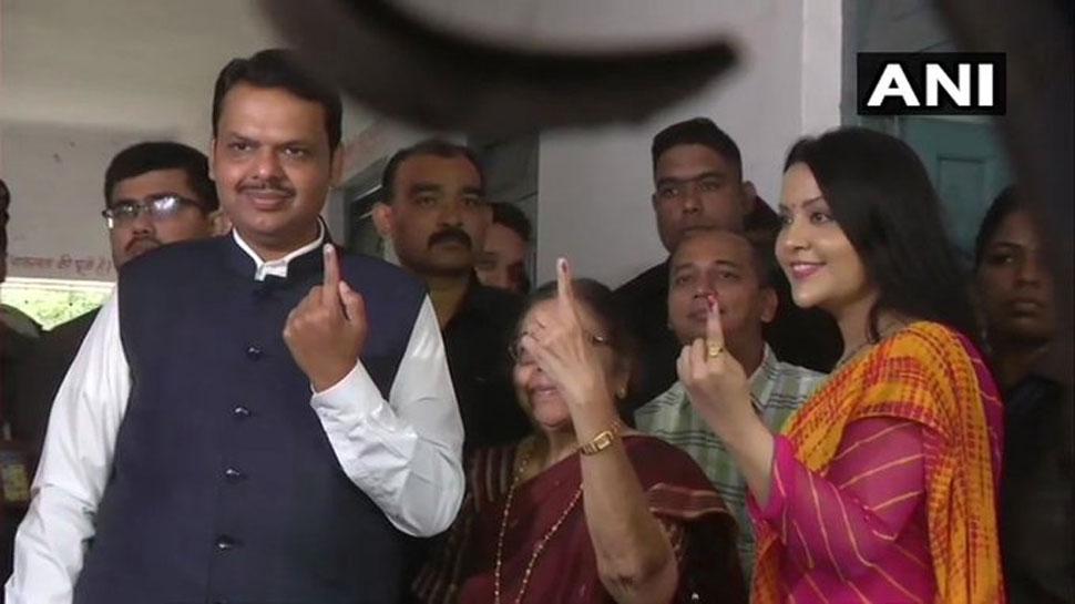 विधानसभा चुनाव: महाराष्ट्र में वोटिंग खत्म, 60.5% हुआ मतदान