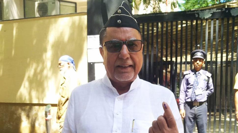 मुंबई: राज्यसभा MP सुभाष चंद्रा ने वोट डाला, भारी संख्या में मतदान की अपील की