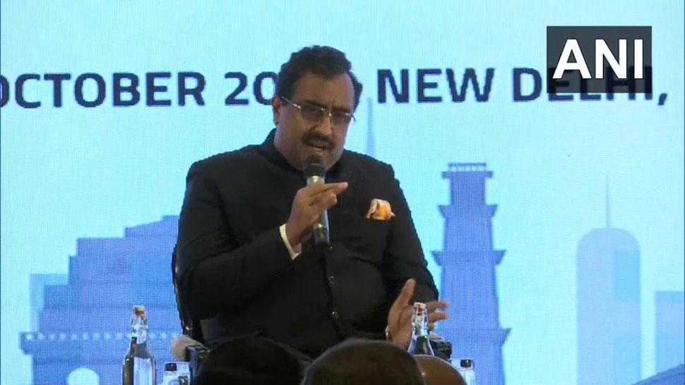 राम माधव ने कहा, 'अधिक से अधिक देशों के साथ बातचीत करने के विचार का BJP सर्मथन करती है'